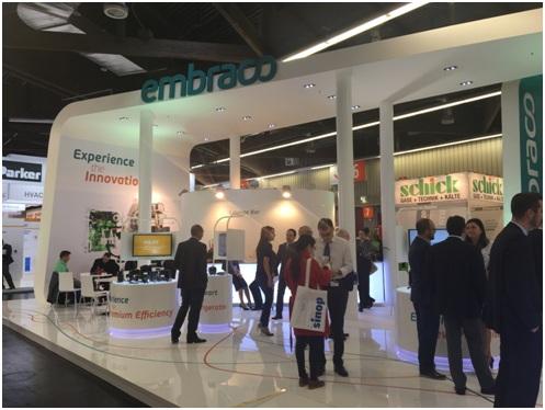 Стенд компании Embraco