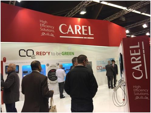 Стенд компании Carel